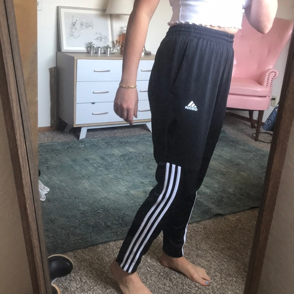 adidas pants 3 stripes halfway